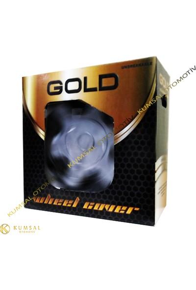 Gold 16 İnç Dacıa Sandero Kırılmaz Jant Kapağı 4'Lü Set