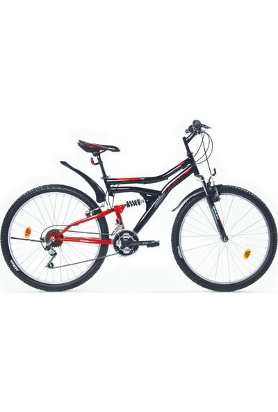 Bisan Hdf Mts 4300 24 Jant Dağ Bisikleti Siyah Yeşil