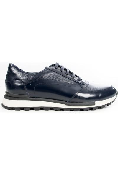 Deepsea Lacivert Termo Taban Bağcıklı Deri Kejıl Erkek Ayakkabı 1909870