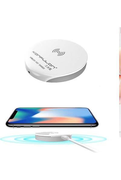 Konfulon Q02 Mini Wireless Kablosuz Hızlı Şarj Cihazı