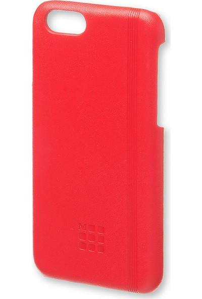 Moleskine Apple iPhone 7/8 Kılıf Kırmızı Sert Kapak