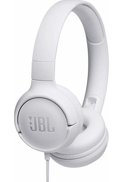 Jbl T500 Beyaz Kulak Üstü Mikrofonlu Kulaklık