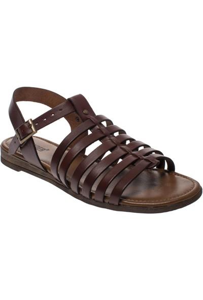 Greyder 53369 Casual Kahverengi Kadın Sandalet
