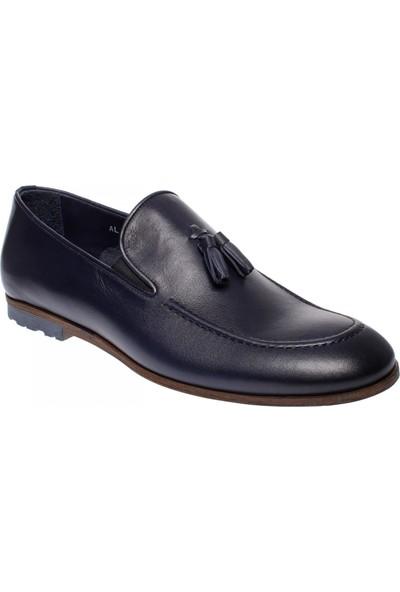 Greyder 61333 Klasik Lacivert Erkek Ayakkabı