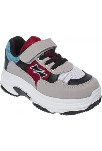 Flubber 24285 Patik Gri Çocuk Spor Ayakkabı