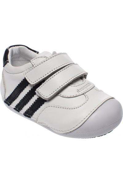Toddler 2553 Bebe Beyaz Çocuk Spor Ayakkabı