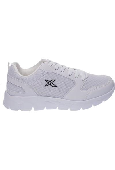 Kinetix Oka Bağlı Poli Taban Beyaz Kadın Spor Ayakkabı