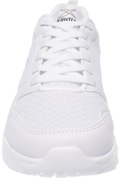 Kinetix Oka Bağlı Günlük Beyaz Erkek Spor Ayakkabı