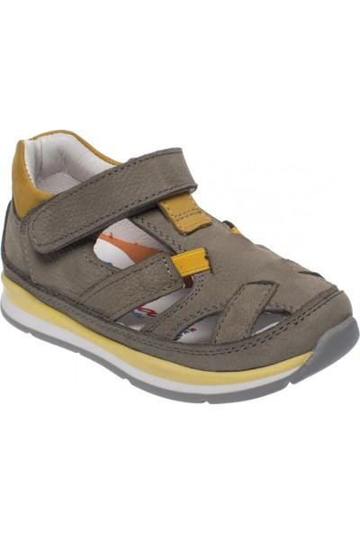 Perlina 3319 Bebe Yaz Gri Çocuk Ayakkabı