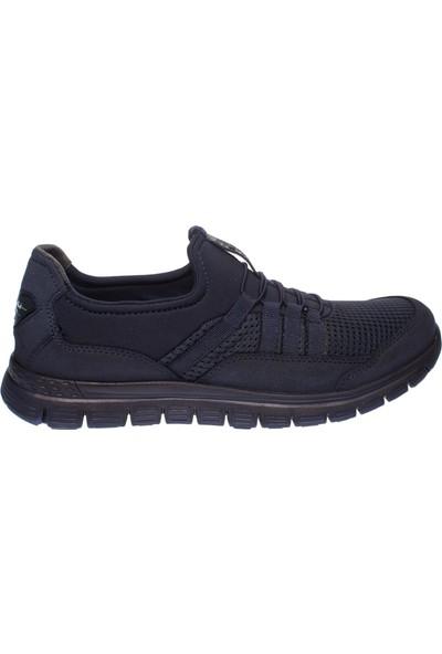 Forelli 45819 Erkek Lacivert Streç Comfort Ayakkabı