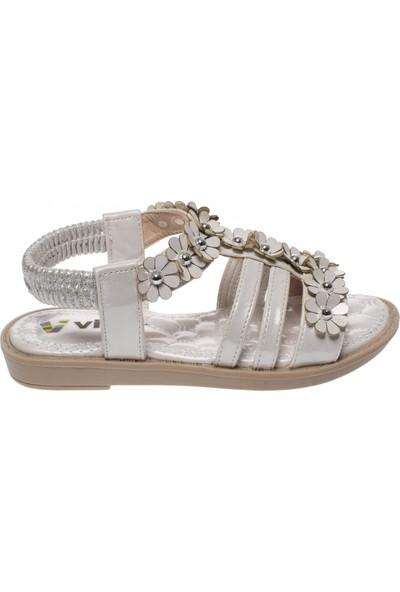 Vicco 928.19Y.497 Patik Kız Beyaz Çocuk Sandalet