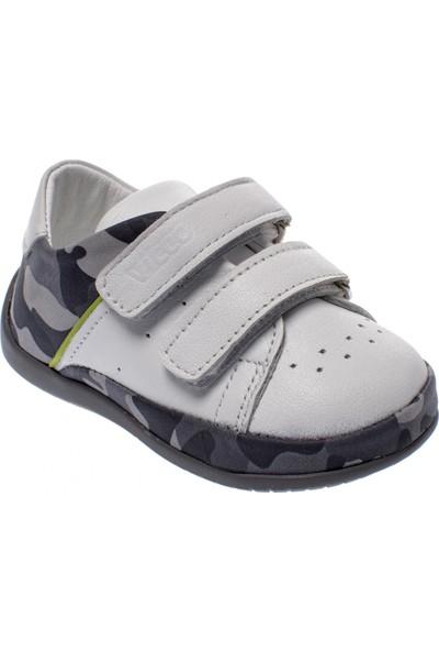 Vicco 918.19Y.017 İlk Adım Deri Beyaz Çocuk Ayakkabı
