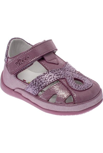 Vicco 918.19Y.010 İlk Adım Deri Pembe Çocuk Ayakkabı