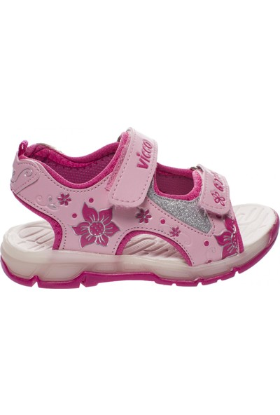 Vicco 333.19Y.522 Patik İşıklı Pembe Çocuk Sandalet