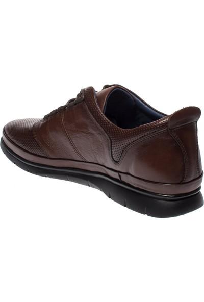 Marcomen 6545 Casual Bağlı Günlük Kahverengi Erkek Ayakkabı