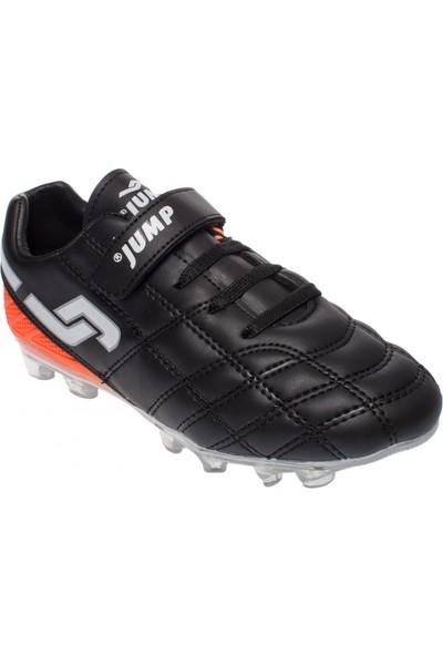 Jump 21975 Filet Krampon Siyah Çocuk Spor Ayakkabı