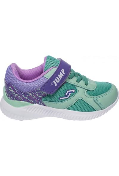 Jump 21258 Tek Cırt Gunluk Yeşil Çocuk Ayakkabı