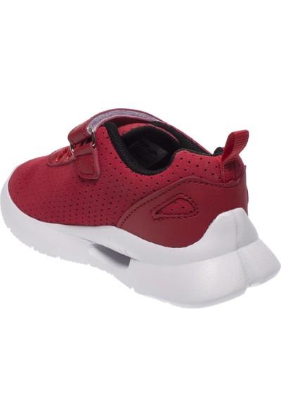 Jump 21180 Tek Cırtlı Kırmızı Çocuk Spor Ayakkabı