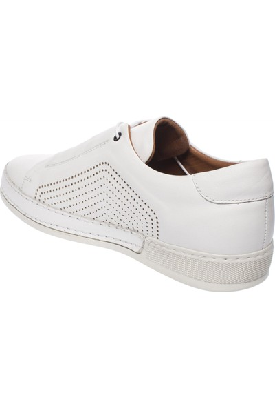 Banner 644 Trend Beyaz Erkek Ayakkabı