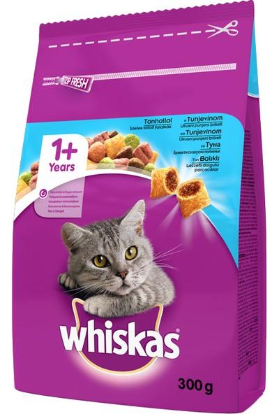 Whiskas Ton Balıklı ve Sebzeli Kuru Yetişkin Kedi Maması 7 x 300 gr