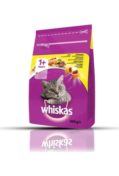 Whiskas Tavuklu ve Sebzeli Kuru Kedi Maması 300 Gr x 7 Adet