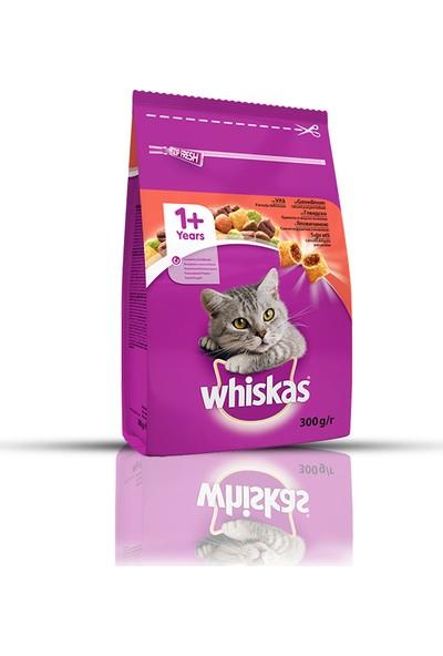 Whiskas Biftekli Kuru Yetişkin Kedi Maması 7 x 300 gr