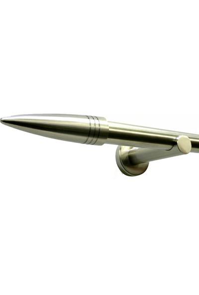 Gardinia Metal Rustik Omega 16 mm - Perde Borusu 200 cm