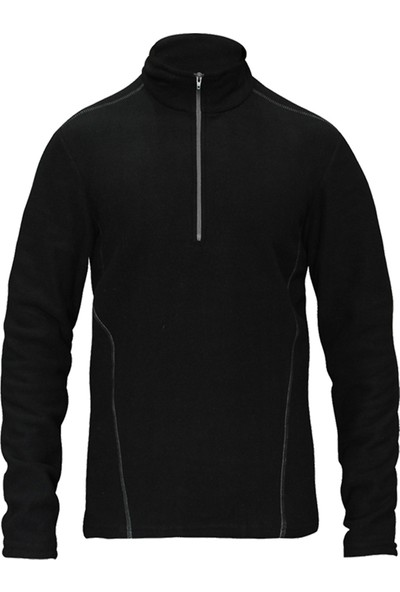 Sivugin Outdoor Erkek Polar Sweatshirt Üst - Siyah