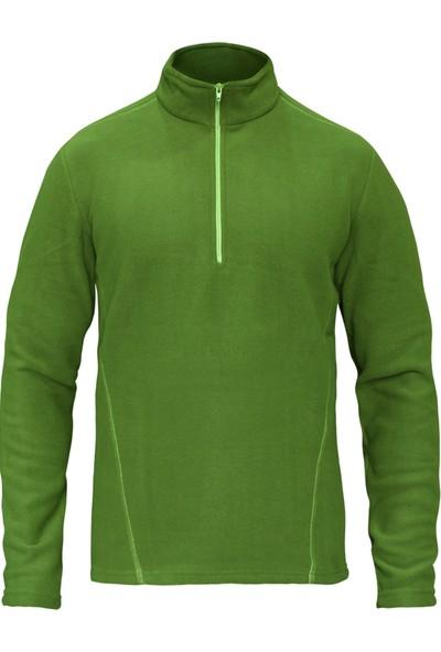 Sivugin Outdoor Erkek Polar Sweatshirt Üst - Yeşil