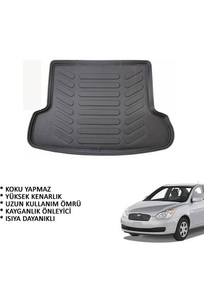 Carx Hyundai Accent Era 3D Havuzlu Oto Paspas Ve 3D Bagaj Havuzu (2006-2012)