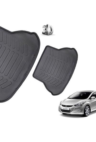 Carx Hyundai Elantra 3D Havuzlu Oto Paspas Ve 3D Bagaj Havuzu (2012 Ve Üzeri)