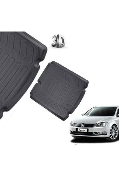 Carx Volkswagen Passat B7 3D Havuzlu Oto Paspas Ve 3D Bagaj Havuzu (2011 Ve Üzeri)