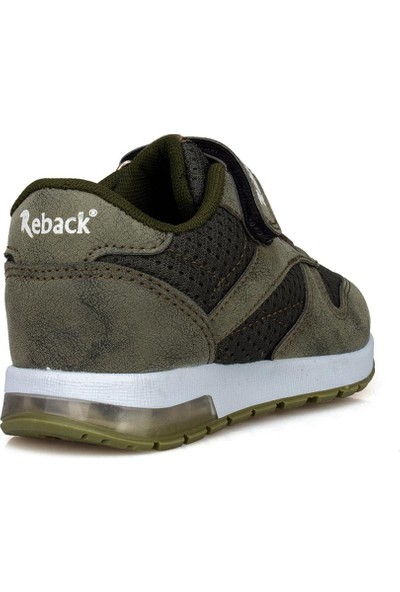 Awidox Reback Haki Erkek Çocuk Ayakkabı Sneaker