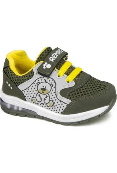 Awidox Remind Haki Erkek Çocuk Ayakkabı Sneaker