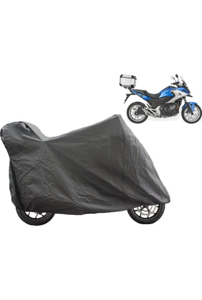 ByLizard Honda Cr 250 Arka Çanta Topcase Uyumlu Motosiklet Branda Örtü Çadır