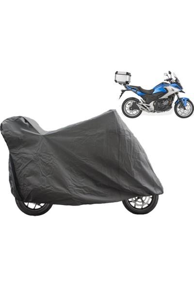 ByLizard Honda Nc 750 X Dct Arka Çanta Topcase Uyumlu Motosiklet Branda Örtü Çadır