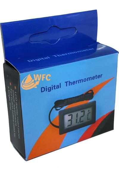 Weather Forecast İç veya Dış Mekan Mini Dijital Termometre Sıcaklık Ölçer thr143x