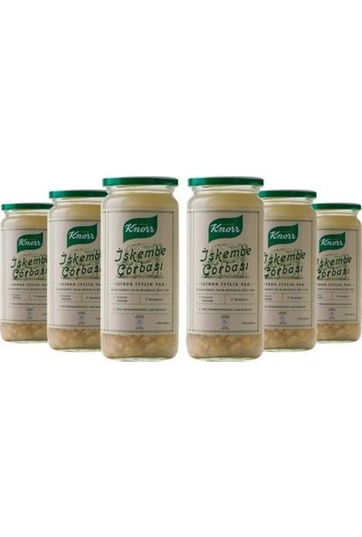 Knorr Cam Sıvı Çorba İşkembe 6'lı Paket
