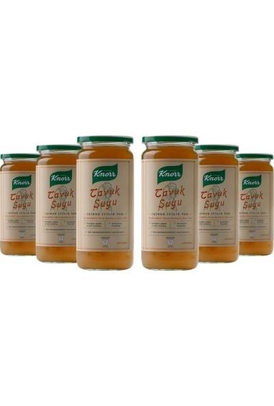Knorr Cam Tavuk Suyu 6'lı Paket