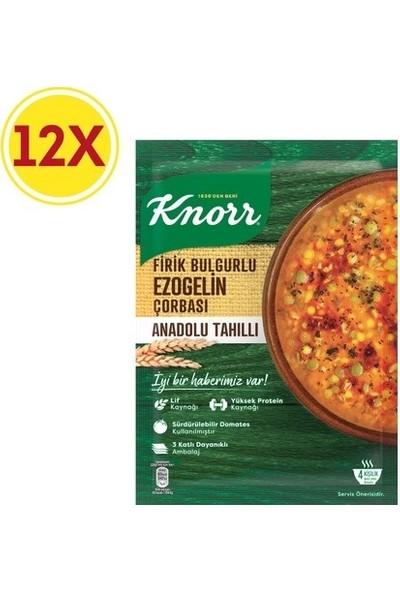 Knorr Firik Bulgurlu Ezogelin Çorbası 12 Paket