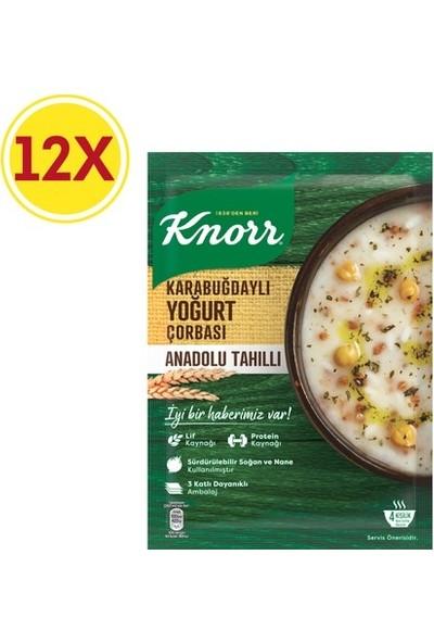 Knorr Karabuğdaylı Yoğurt Çorbası 12 Paket