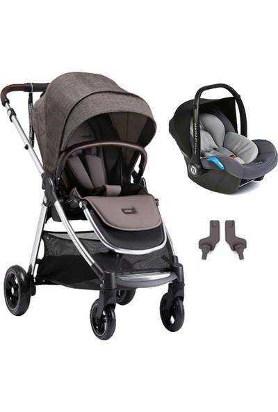 Mamas Papas Armadillo Flip XT 3 Travel Sistem Bebek Arabası Chestnut