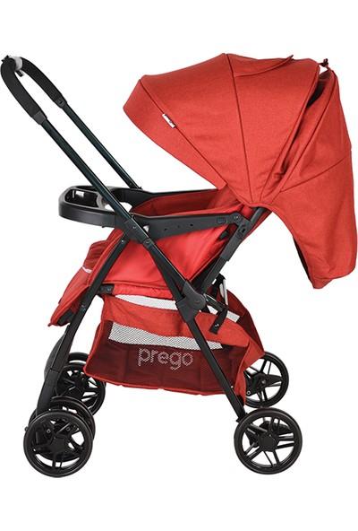 Prego 2095 Piccalo Çift Yönlü Bebek Arabası - Kırmızı