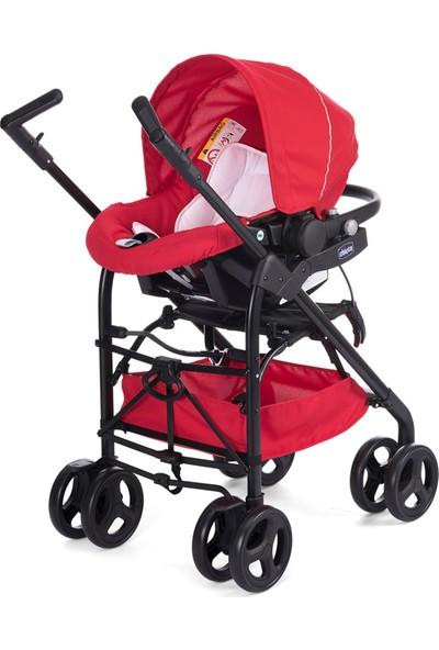 Chicco Trio Sprint Travel Sistem Bebek Arabası / Red Passion