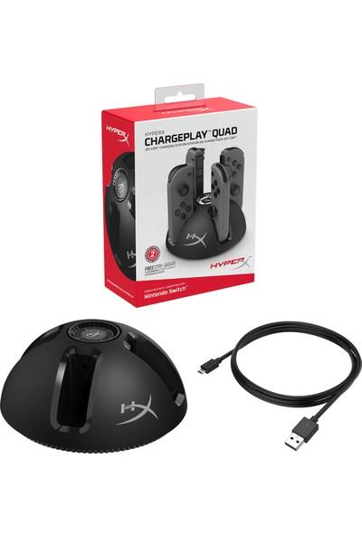 HyperX ChargePlay Quad Konsol Şarj İstasyonu HX-CPQD-U