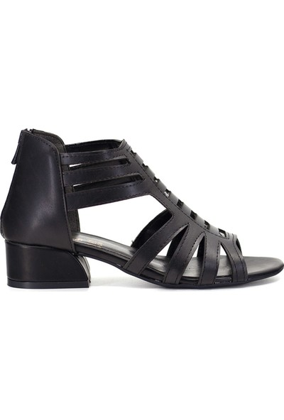 Eşle 9Y-505 Kadın Sandalet Siyah