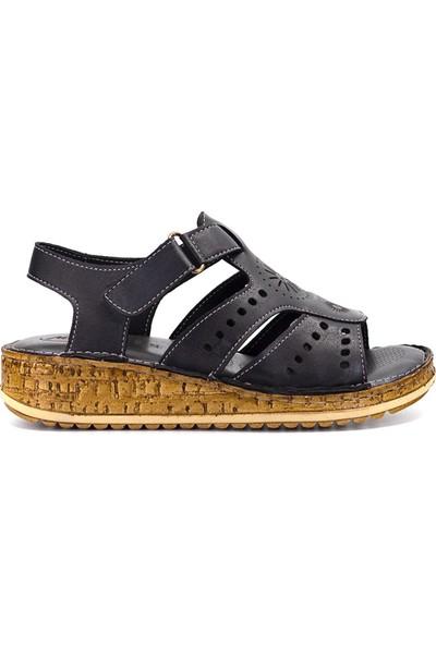 Eşle 9Y-913 Kadın Sandalet Siyah