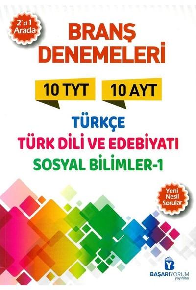 Başarıyorum Yayınları TYT Türkçe AYT Edebi̇yat Sosyal Bi̇li̇mler 1 Deneme
