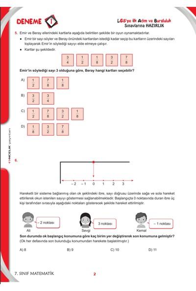 Önceli̇k Yayıınları 7. Sınıf 5 Deneme
