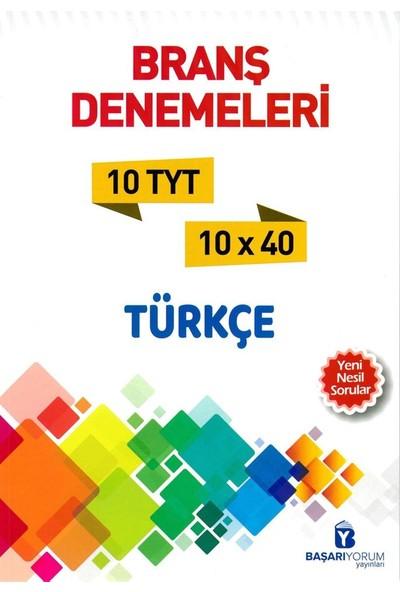 Başarıyorum Yayınları TYT Türkçe 10 Deneme